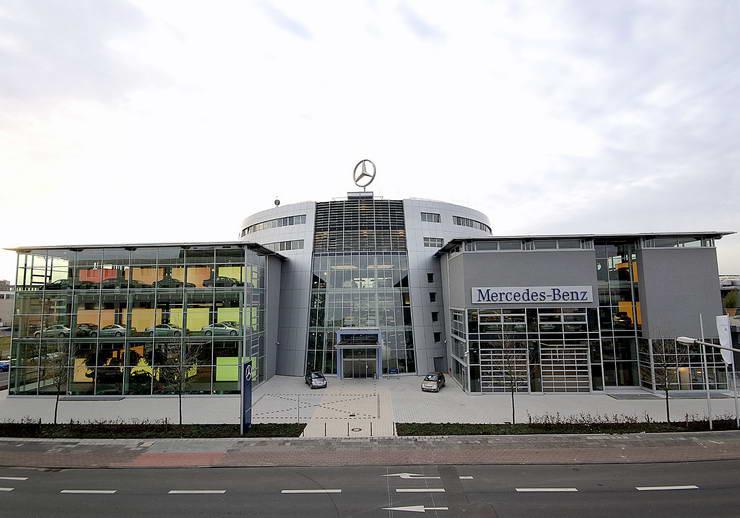 Mercedes Benz Niederlassung Köln Leverkusen